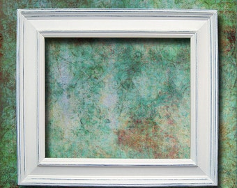 Picture Frame White Picture Frame Rustic Picture Frame Decor Wedding Frame Distressed Frame Shabby Chic Picture Frame 8x10 Frame More Colors