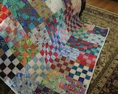Quilt Kaffe Fassett Snips and Snails Twin Quilt from his book Quilts en Provence Made to Order