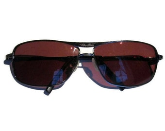 RayBan Sunglasses /Men's Vintage Aviator/ 1980s Brown Glass