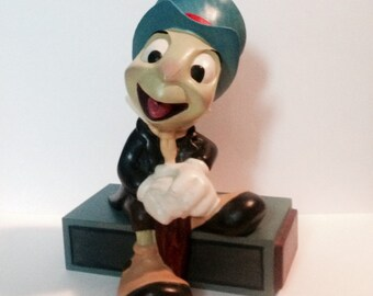 """8"""" Carved Wood JIMINY! A One-of-a-Kind, Original, Hand-Painted -- Very Rare and Unusual!"""
