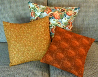 Pillow Covers Autumn Set of Three