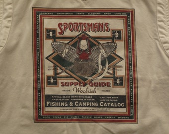mens vintage Woolrich fishing vest