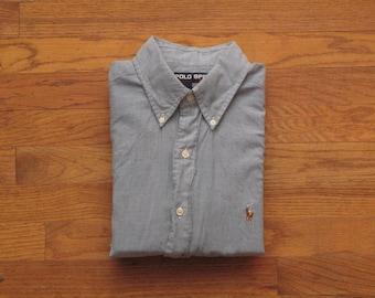 mens vintage Polo Sport chambray shirt