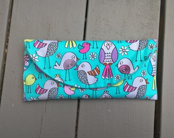 ready to shipSIX Designer Fabric Cash Envelopes  with Designer Carrier
