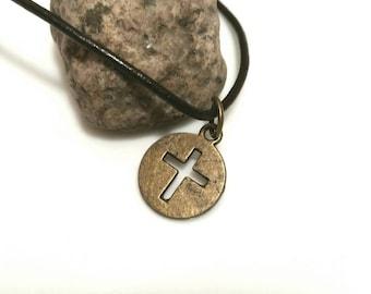 Cross Necklace Christian Jewelry Christian Gift Men Gifts Mens Jewelry Teen Boy Gift Teen Girl Women Trending Jewelry