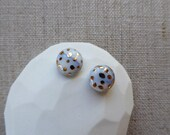 Ink Marble Speckled Gold ...