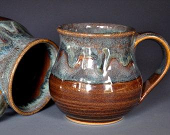 Pottery Mug Stoneware Ceramic Coffee Cup Handmade Mug