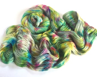 Isadora. Alpaca Lace Yarn. Cosmic Clouds.