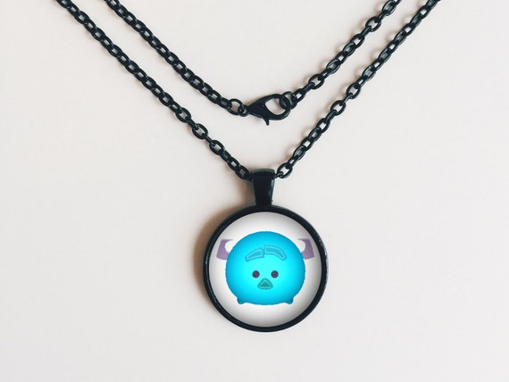Sulley from Monsters Inc. Tsum Tsum Necklace or Keychain