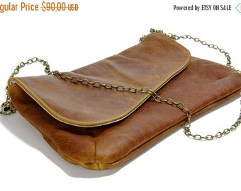 Summer SALE, leather clutch, women purse, black leather Clutch