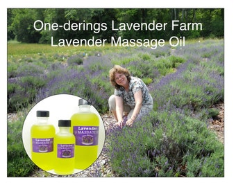 Premium Lavender Massage Oil