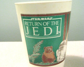 Vintage Star Wars Return Of The Jedi Pepperidge Farms Cup