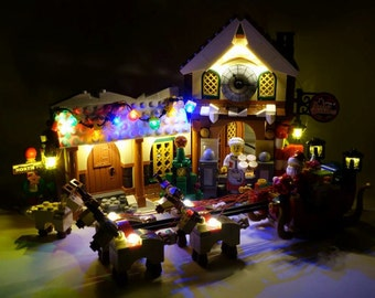 Light up kits for 10245 - Santa's Workshop - (Model not included)