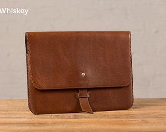 SECONDS - The Valet Slim Leather Portfolio for iPad Pro 12.9 - Whiskey