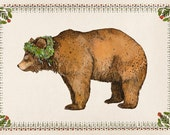 Brown Bear  // Signed A4 Print