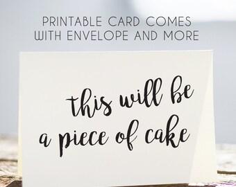 c70% OFF SALE cute printable birthday card