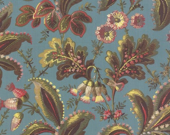 Color Daze - Secret Garden in Blue Grass by Laundry Basket Quilts for Moda Fabrics