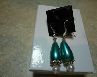 Three HANDCRAFTED pairs of EARRINGS