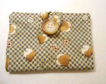 Tea Wallet in Tea Bag print