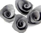 Tiny Black Roses - Wall Hangings