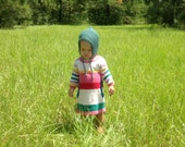 Handknit Baby/Toddler Bonnet *MADE TO ORDER*