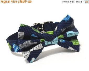BIG Summer SALE The Gentleman BowTie Dog Collar