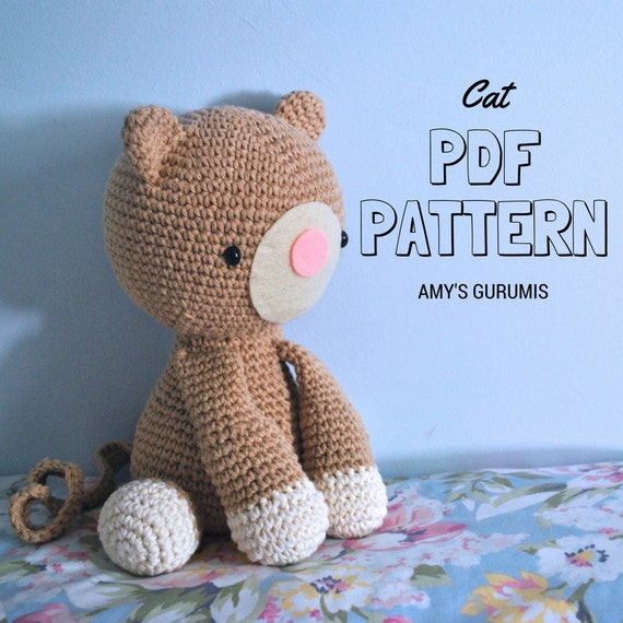 Amigurumi Black Cat Pattern : Amigurumi Pattern Cat