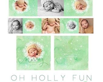 Oh Holly Fun 3x3 WHCC Accordion vol 5