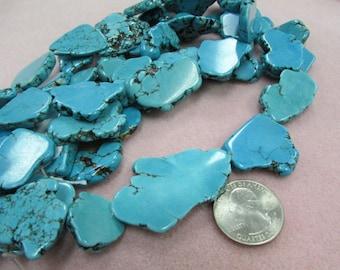 Magnesite Slab Beads SALE