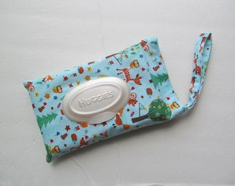 Baby Wipes Cover For HUGGIES 32Wipes/Cute Animals