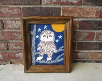 Snowy the Snow Owl