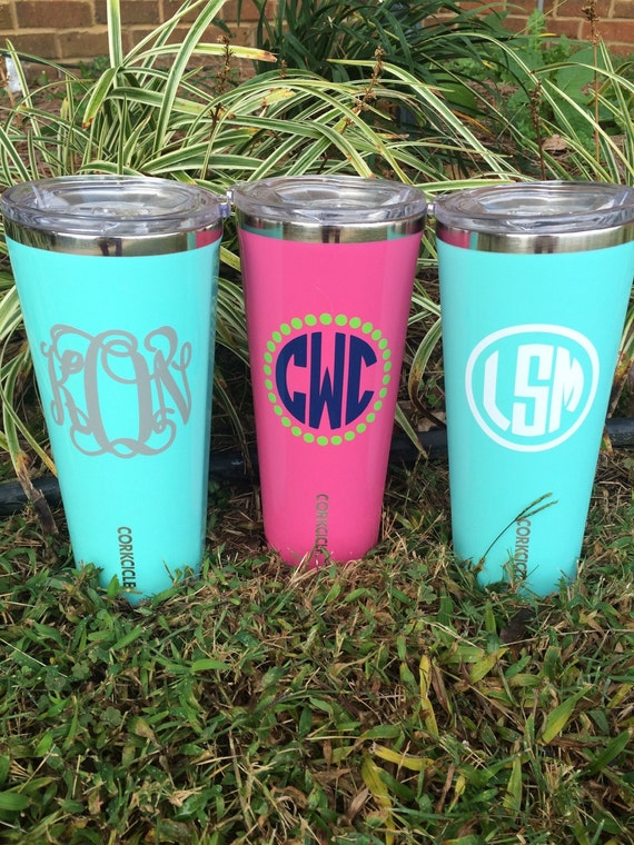 24oz Corkcicle Personalized Triple Insulated Tumbler By