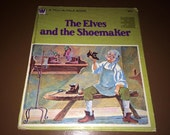 The Elves and the Shoemaker 1975 Whitman Book Hardback Jim Robison USA Produced
