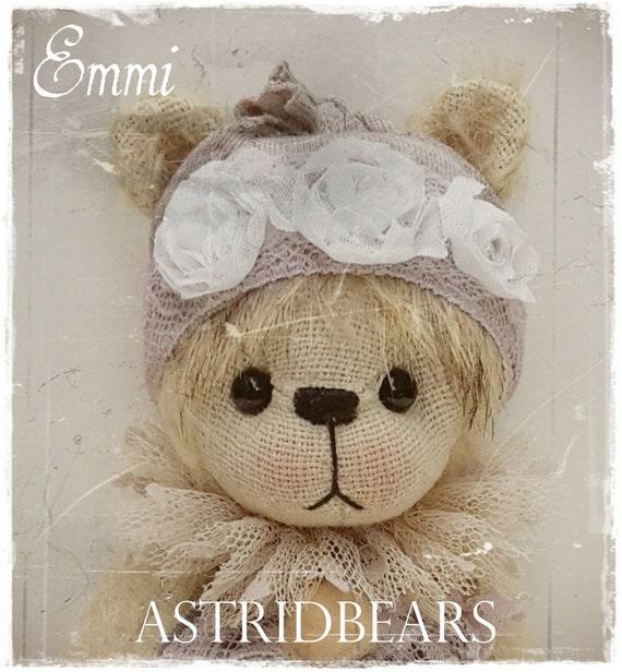 Schnittmuster Teddybär Emmi 16 cm ASTRIDBEARS SOFORT Download