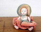 Vintage Miniature Doll Crochet Clothes
