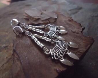 TRIBAL EARRINGS BOHO - Gypsy style (1295)