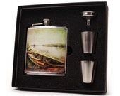 Personalized Flask, 6oz Boating Flask