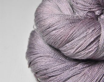 Rose which must not be named - Merino/Silk/Cashmere Fine Lace Yarn