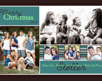 CH 4 - Photo Christmas Card (25 per set)