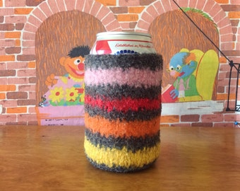 Felted Beer Cozy - Happy Summer Collection