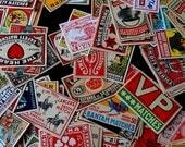 15 Vintage Swedish Matchbox Labels Not Reprints