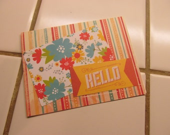 Hello -- Greeting Card, Hello
