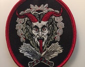 Krampus Embroidered Patch