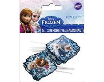 Disney Frozen Fun Picks, Cupcake toppers