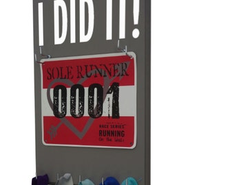 Use Running Bib Holders to proudly display your precious Bibs - I DID IT! - gifts for runners