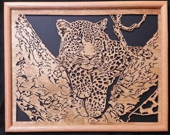Sitting Pretty Leopard