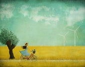 Bikeride -  Art print (3 different sizes)
