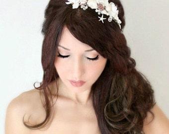 bridal headband, bridal headband ,bridal headband ,custom order Tina Comb and Veil