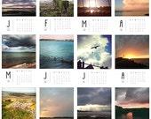 2016 calendar 7x5 - northern ireland coast, photo gift, loose leaf, mini easel, stocking stuffer, gifts under 15 pounds