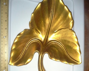 Gold Leaf Freeman McFarlin Pottery California